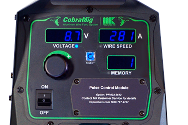 Mig Welder CobraMig 300 Simple Digital Controls