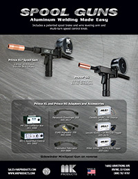 Spool Gun Sales Sheet