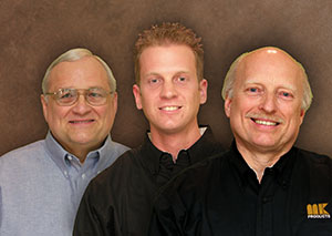Gary, Wesley and Wes Mekrut of Mekrut Sales Company