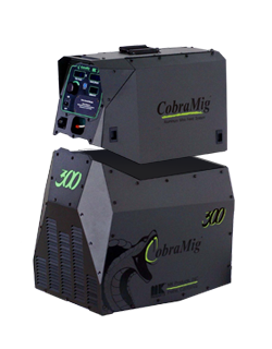 Cobramig 300-sold indivually-power supply only or wire feeder only